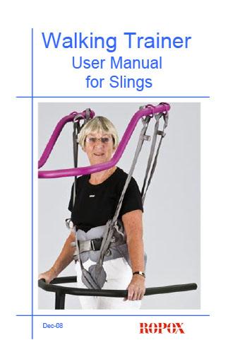 User Manual Slings for Walking Trainer