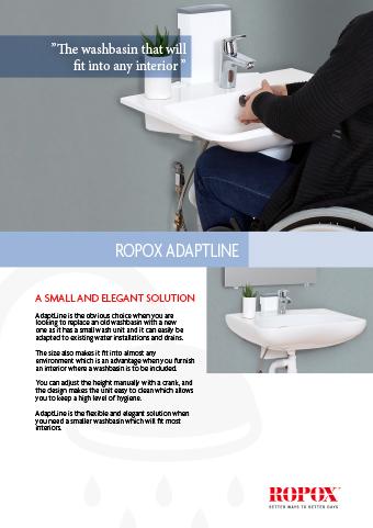 Ropox datasheet AdaptLine