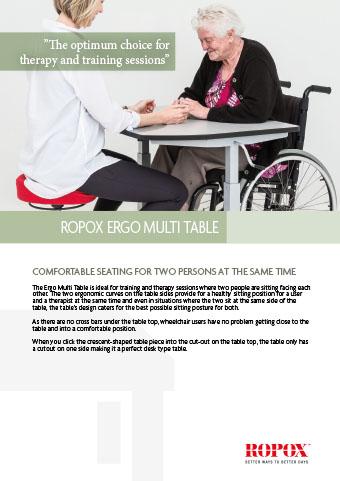 Data leaflet Ropox Ergo Multi Table