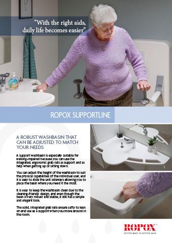 Data leaflet Ropox SupportLine