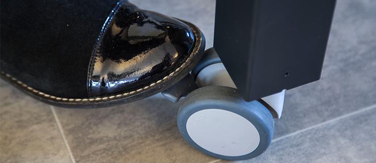 4Single Table Frame wheels
