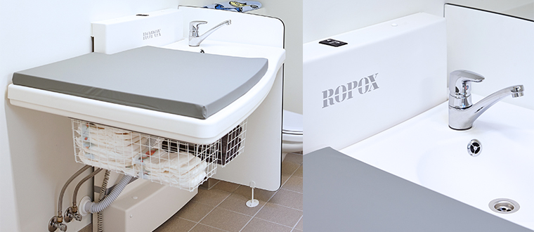 maxi2 puslebord with sink cover