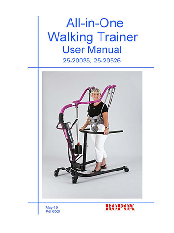 User Manual All in One Walking Trainer