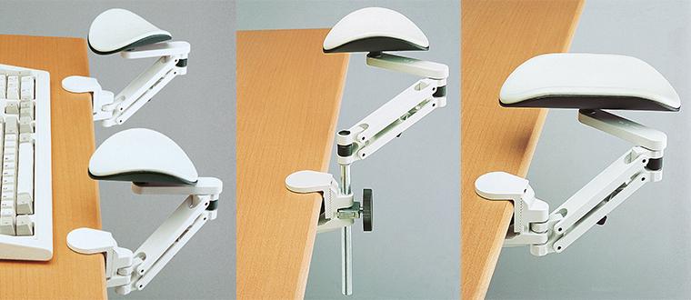 Arm Supports / Ergorest armstøtter installed adjustable